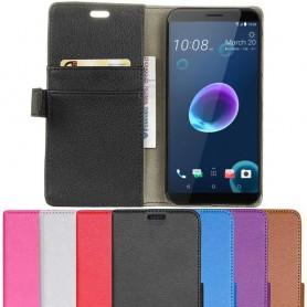 Mobilplånbok 2-kort HTC Desire 12 mobilskal fodral
