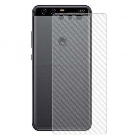 Kolfiber Skin Skyddsplast Huawei P10 Plus mobilskydd caseonline