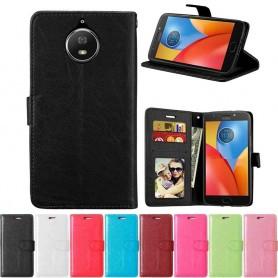 Mobilplånbok 3-kort Motorola Moto G5S XT1794 mobilskal fodral