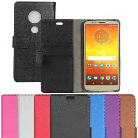 Mobilplånbok 2-kort Motorola Moto E5 fodral väska caseonline