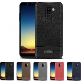 Rugged Armor TPU skal Samsung Galaxy A6 Plus 2018 mobilskal skydd