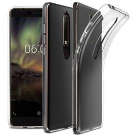 Silikon skal Transparent Nokia 6.1 2018 mobilskal