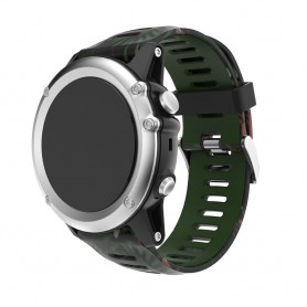 Camo Armband Garmin Fenix 3 / 5X (djungle)