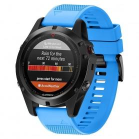 Sport Armband Garmin Fenix 3 / 5X (Oceanblue)