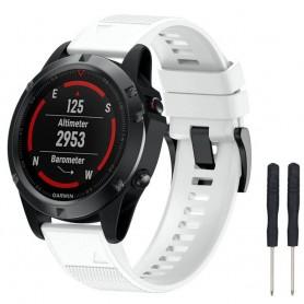 Sport Armband Garmin Fenix 5 / Forerunner 935-Vit