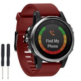 Sport Armband Garmin Fenix 5S - Röd