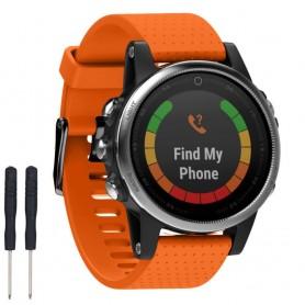 Sport Armband Garmin Fenix 5S - Orange