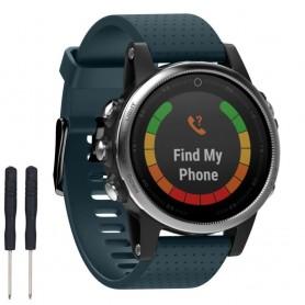 Sport Armband Garmin Fenix 5S - Gråblå
