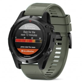 Sport Armband Garmin Fenix 3 / 5X (mgrön)