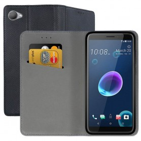 Moozy Smart Magnet FlipCase HTC Desire 12 mobilskal