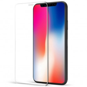 Apple iPhone X 5D Curved härdat glas