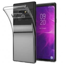 mobilskal Samsung Galaxy Note 9 Silikon skal Transparent