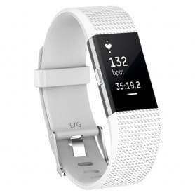 Sport Armband till Fitbit Charge 2 - Vit