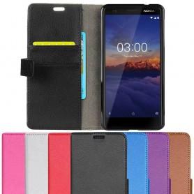 Mobilplånbok 2-kort Nokia 3.1 2018-mobilskal-fodral-caseonline