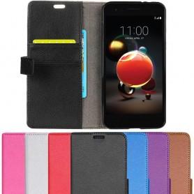 Mobilplånbok 2-kort LG K9 2018 fodral mobilskal