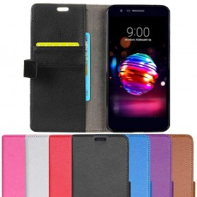 Mobilplånbok 2-kort LG K11 2018 mobilskal fodral skydd caseonline