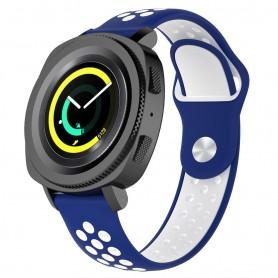 EBN Sport Armband Samsung Gear Sport - blå/vit