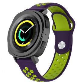 EBN Sport Armband Samsung Gear Sport - lila/grön