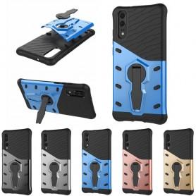 Sniper Case Huawei P20 Pro mobilskal med ställ