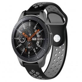 EBN Sport Armband Samsung Galaxy Watch 46mm-Svart/Grå