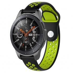 EBN Sport Armband Samsung Galaxy Watch 46mm-Svart/Grön