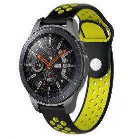 EBN Sport Armband Samsung Galaxy Watch 46mm-Svart/Gul