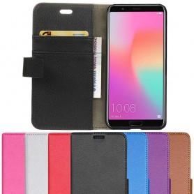 Mobilplånbok 2-kort Huawei Honor View 10 mobilskal fodral