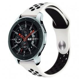 EBN Sport Armband Samsung Galaxy Watch 46mm-Vit/svart