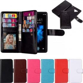 Dubbelflip Magnet 2i1 Samsung Galaxy Note 9 magnetisk mobilplånbok väska fodral