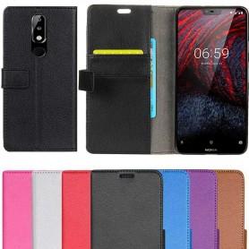 Mobilplånbok 2-kort Nokia 6.1 Plus fodral väska mobilskal skydd