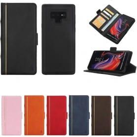 Retro Book Wallet 2i1 Samsung Galaxy Note 9 magnetikt fodral mobilskal