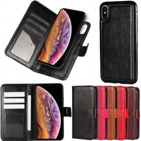 MOVE Magnetisk mobilplånbok 2i1 Apple iPhone XS Max