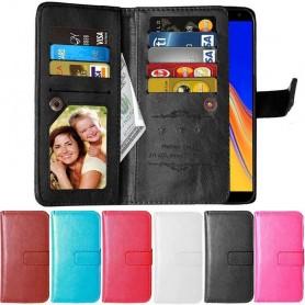 Dubbelflip Flexi 9-kort Samsung Galaxy J4 Plus (SM-J415F)