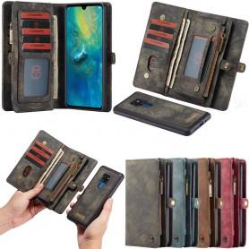 CaseMe Multiplånbok 11-kort Huawei Mate 20 (HMA-L29) magnetisk 2i1 mobilskal fodral väska caseonline
