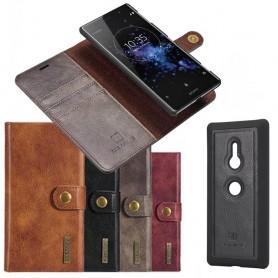 Mobilplånbok Magnetisk DG Ming Sony Xperia XZ3 mobilskal fodral