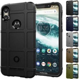 Rugged Shield skal Motorola ONE (XT1941) mobilskal skydd caseonline