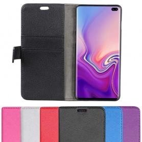Mobilplånbok 2-kort Samsung Galaxy S10 Plus (SM-G975F) mobilskal fodral caseonline