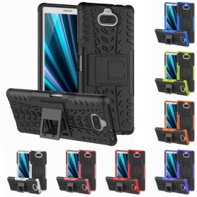 Stöttåligt skal med ställ Sony Xperia 10 Plus (I4213) mobilskal skydd silikonskal caseonline
