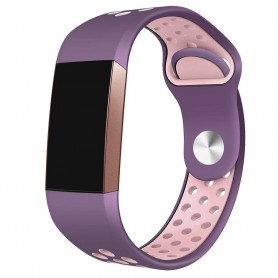 Fitbit Charge 3 EBN Sport Armband - Lila/rosa