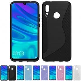 S Line silikon skal Huawei P Smart 2019 (POT-LX1) mobilskal skydd fodral caseonline