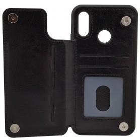 Mobilskal Business 3-kort Huawei P20 Lite (ANE-LX1) skal fodral caseonline backcase