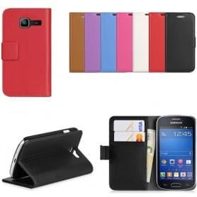 Samsung Galaxy Fresh Duos mobilplånbok 2-kort mobilskal