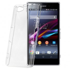 Sony Xperia Z1 Compact Silikon Transparent