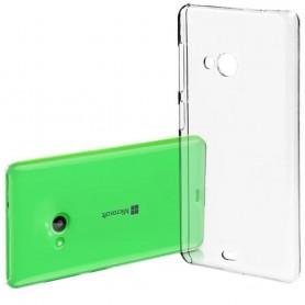 Microsoft Lumia 540 silikon skal transparent