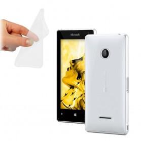 Microsoft Lumia 435 silikon skal transparent