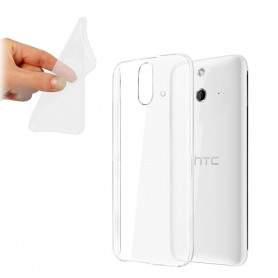 HTC One E8 silikon skal transparent