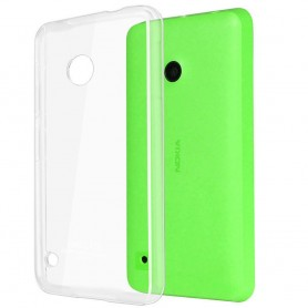 Nokia Lumia 530 silikon skal transparent
