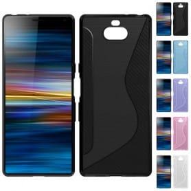 S Line silikon skal Sony Xperia 10 (I4113) mobilskal