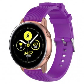 Sport Armband RIB Samsung Galaxy Watch Active - Lila