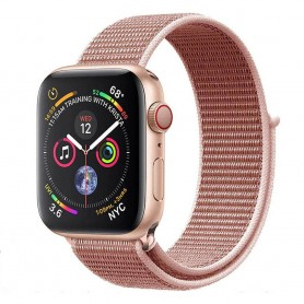 Apple Watch 4 (40mm) Nylon Armband - Rose Pink